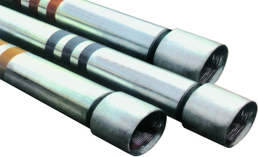 carbon steel pipes with seam with threaded ends black u0026 galvanized