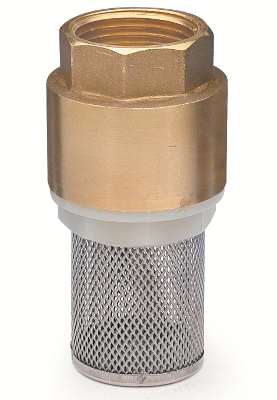 Brass Foot Valves with S/S Screen APM 7050 1