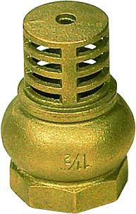 Foot Valves APM 7200, Brass, Thr., 1