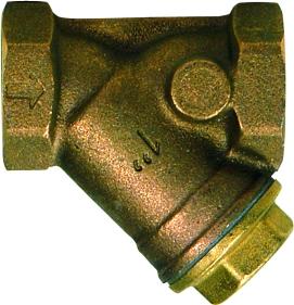 Strainers, Bronze, for Gas, Thr., CIM 74/AGOT 1/2