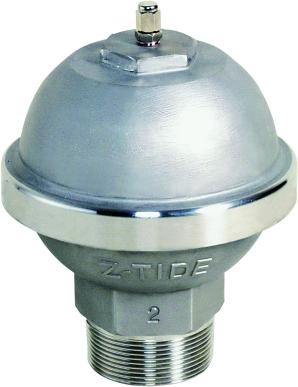 Z-TIDE I-Style S/S 304 Water Hammer Arrestors, Thr. BSP 1/2