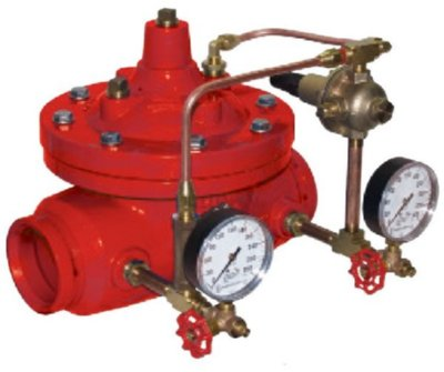Pressure reducing valves, for water - Fire protection -