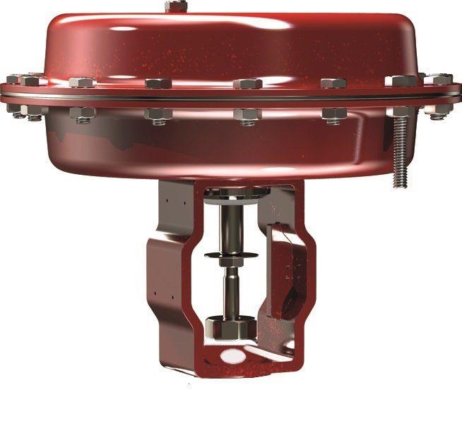 ARMSTR.Pneumatic Actuator Reverse Action S200A FC, 0,2-1,0 bar